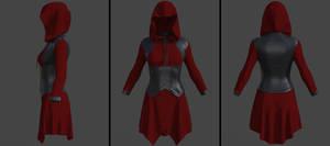 hooded handkerchief dress (g8f) (daz)