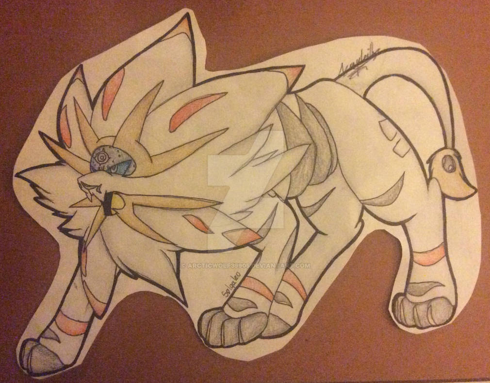:Pokemon: Solgaleo