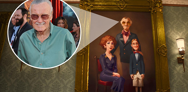 Its Stan lee. In Big Hero 6 by artisticflairdrops