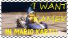Kamek in Mario Kart stamp by shichimencho-stamper