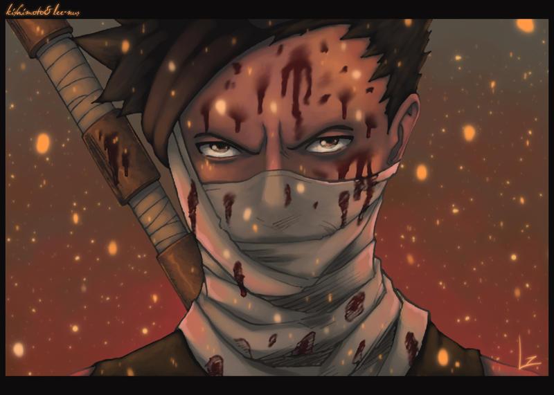 Zabuza Demon Face Demon of the Hi...