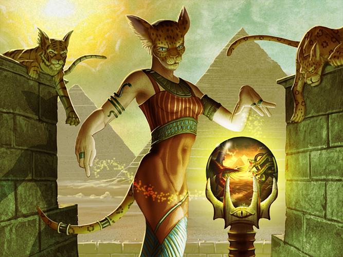 Magic of Bast by MichaelJaecks