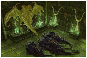 Cloaker illo for Paizo by MichaelJaecks