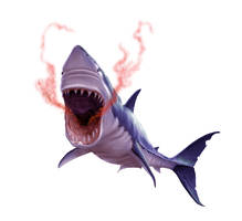 Giant Shark for Paizo by MichaelJaecks