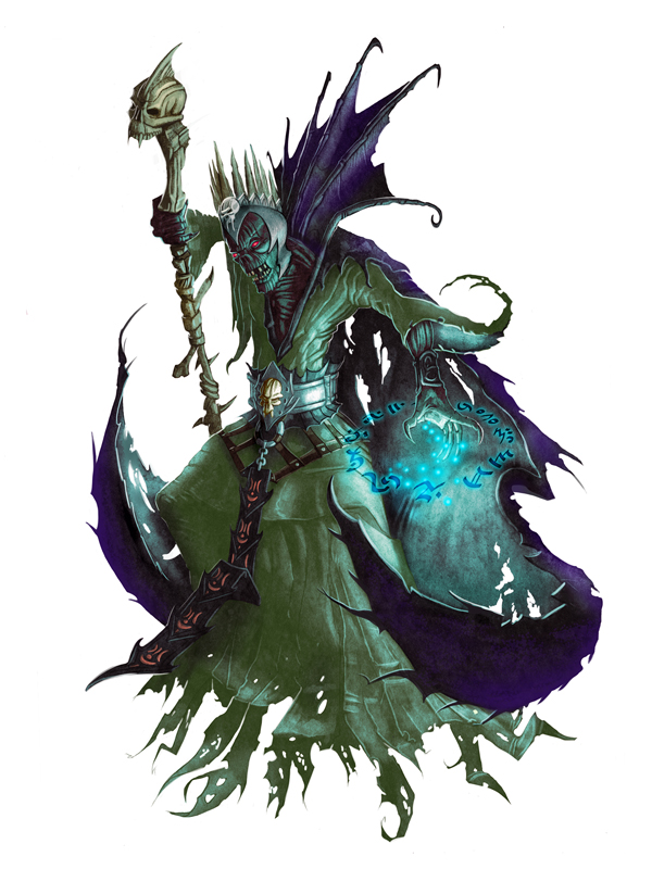 Lich for Paizo Pathfinder by MichaelJaecks