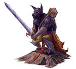 Hound Archon for Paizo