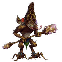 Brown Morel Goblin by MichaelJaecks