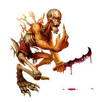 Flesh Ripper by MichaelJaecks