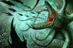 Dagon, Demon Prince of the Sea by MichaelJaecks
