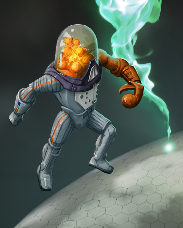 WIP Fisher Price Adventure People Alien Brainoid by MichaelJaecks