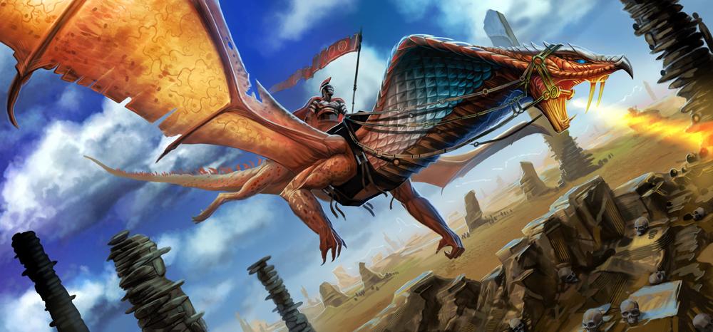 Cobra Dragon by MichaelJaecks