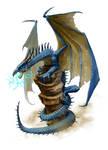 Mythic Blue Dragon