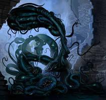 Mythic Shoggoth by MichaelJaecks