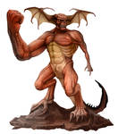 Yagnodaemon Mythic Monsters Daemons Michael Jaecks