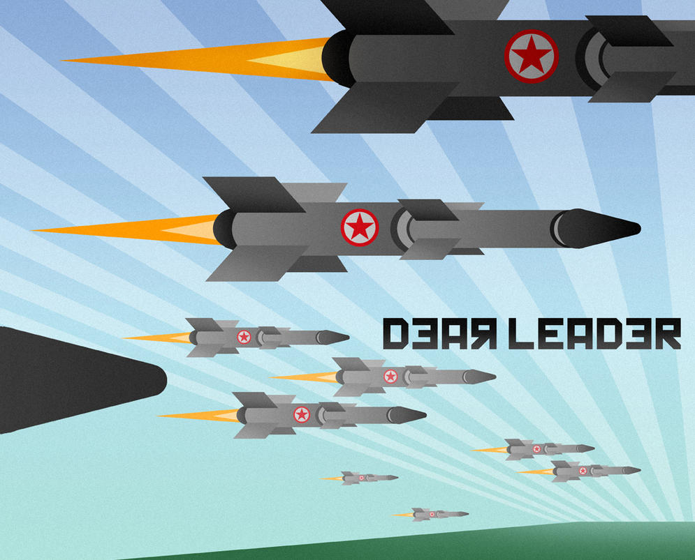 Missiles DPRK for Dear Leader the Game by MichaelJaecks