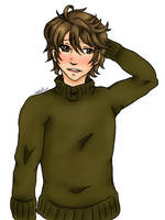 Stahl in a Turtleneck by Nakaion
