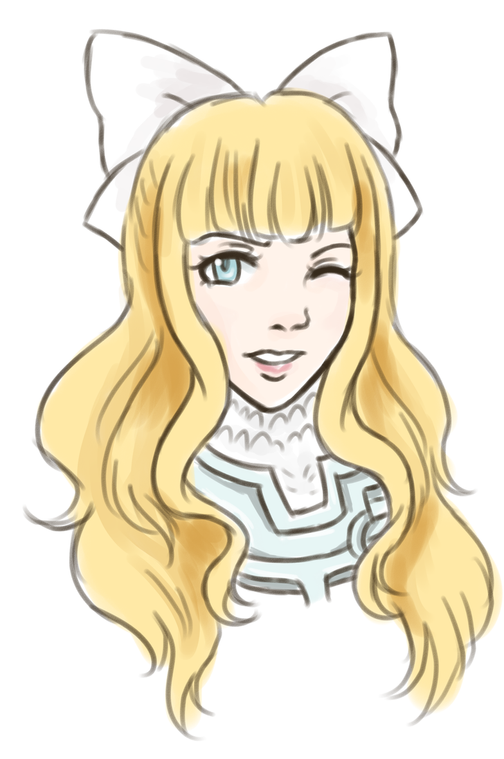 Charlotte doodle by Nakaion