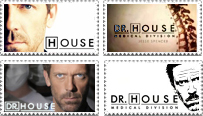 Dr.House Stamps by irreplaceablemartina