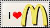 Love McDonald Stamp by irreplaceablemartina
