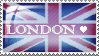 Love London Stamp by irreplaceablemartina