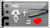 Straightener LOVE Stamp by irreplaceablemartina