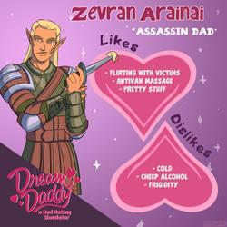 Dream Age: Zevran Arainai