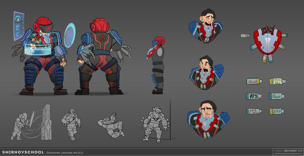 Dwarf-hacker by Gauntletto