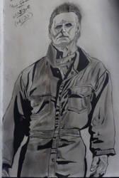 Michael Myers by Mirai-Gohan