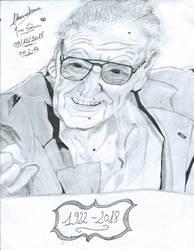 Stan Lee by Mirai-Gohan