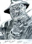 Freddy Krueger by Mirai-Gohan