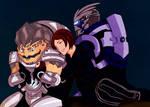 Shepard's Family by BeeTaul