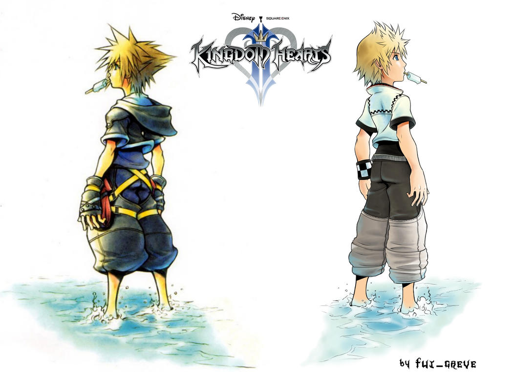 Kingdom Hearts 2 Sora And Roxas Wallpaper By Fut Greve On DeviantArt