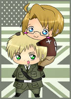 APH- Chibi Back Ride by brindis