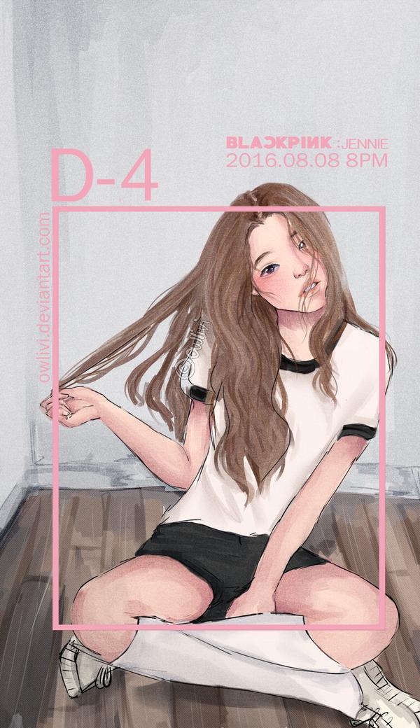 Jennie (BLACKPINK) by owlivi on DeviantArt