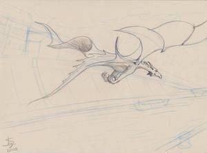Dragon sketch2