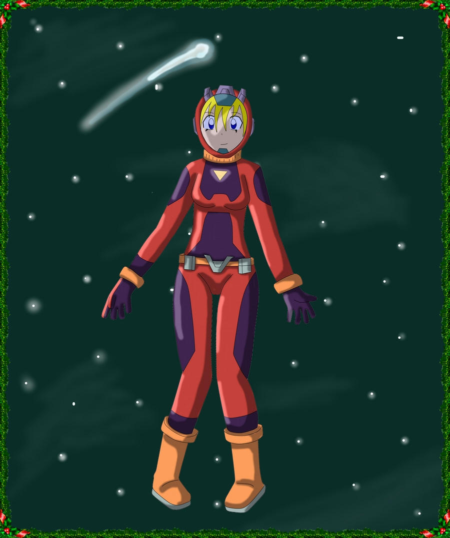 Christmas Gift art- Tiffany space suit by thean2 on DeviantArt