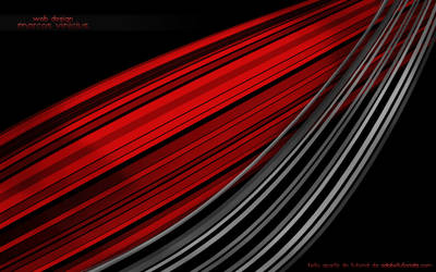 rainbow abstract red and black by marcoswebdesign