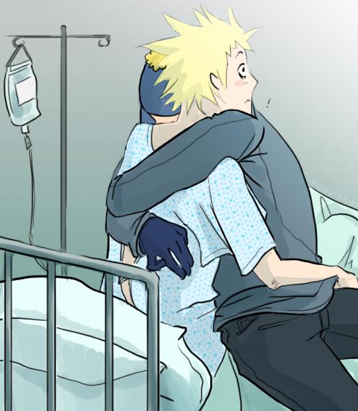 Hospital beds. by vicodins