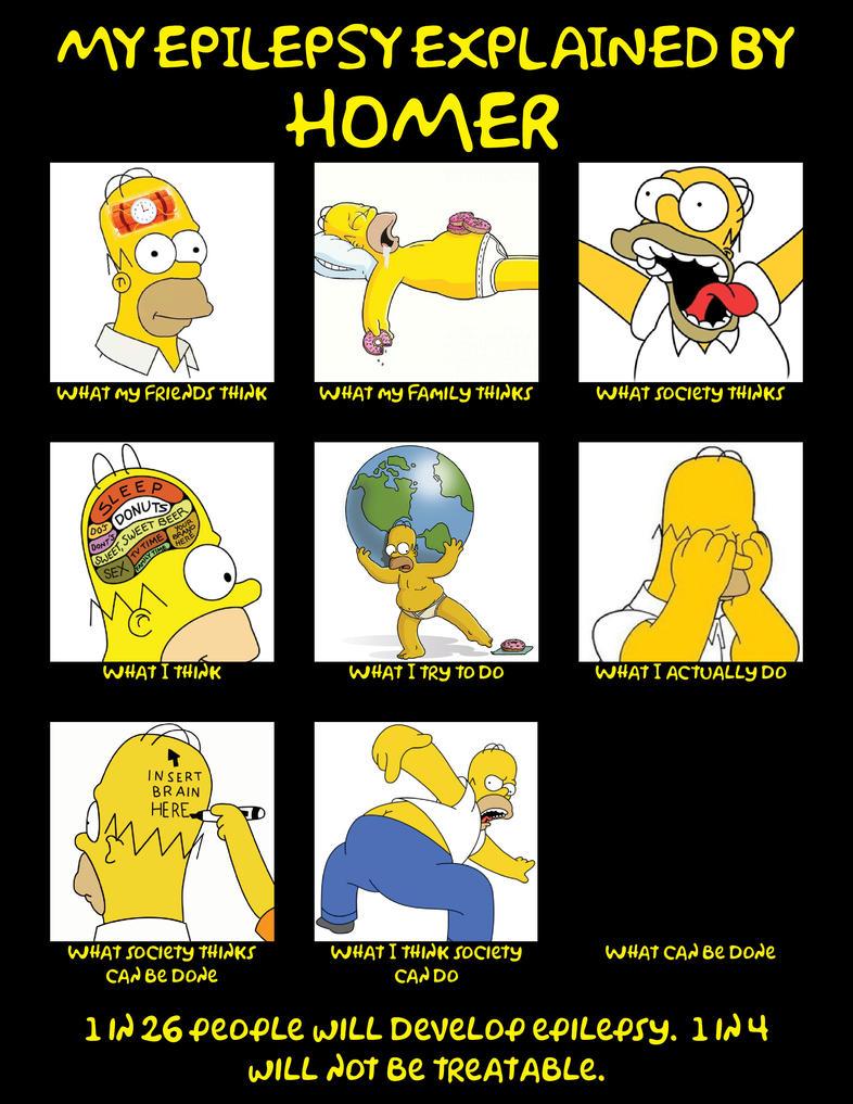 My Epilepsy Explained By Homer by HRSegovia