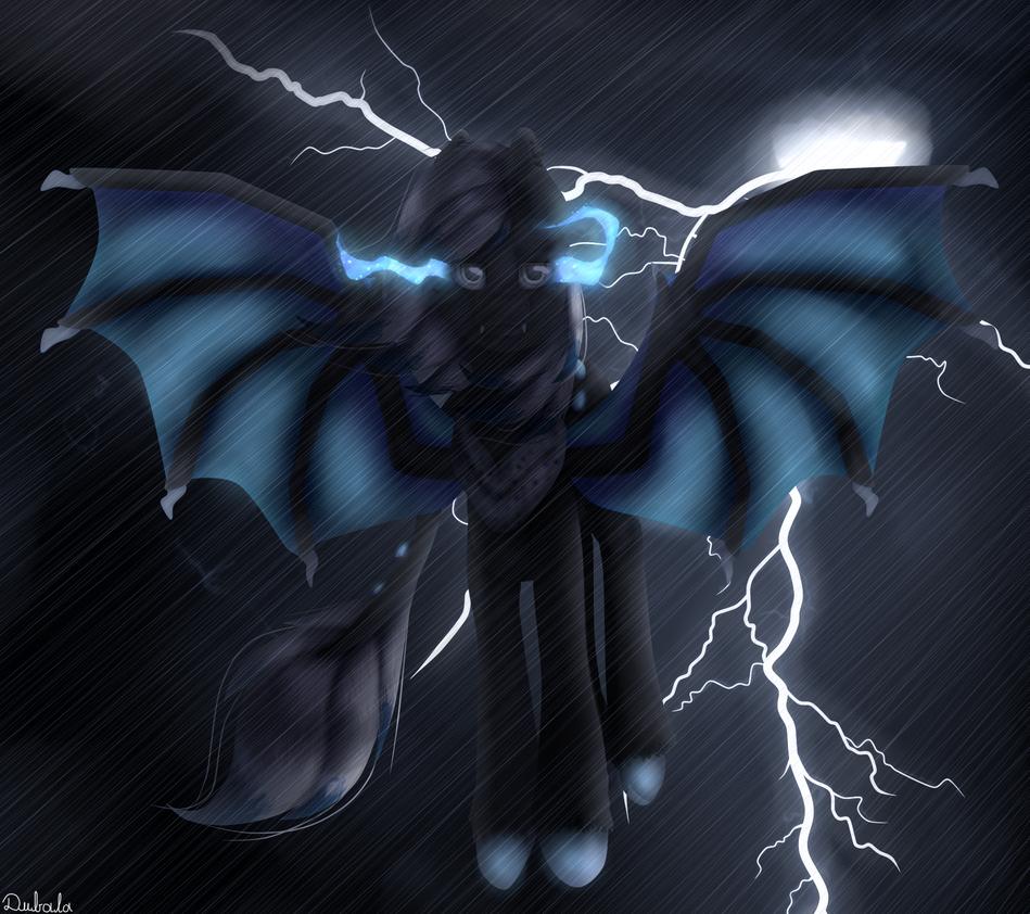 Contest-thunder bat by GalaxyJessie