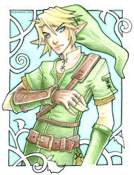 Link - Colored Pencil by bluessence