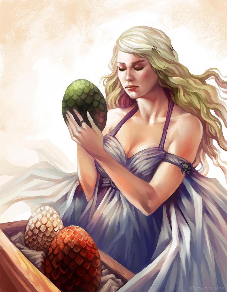 Game of Thrones - Daenerys Fan Art by bluessence