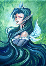 Fairy Queen - Acrylic Painting