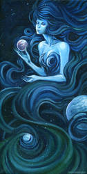 Head Space - Acrylic Painting