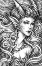 Mermaid Portrait 2