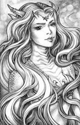 Mermaid Portrait 3