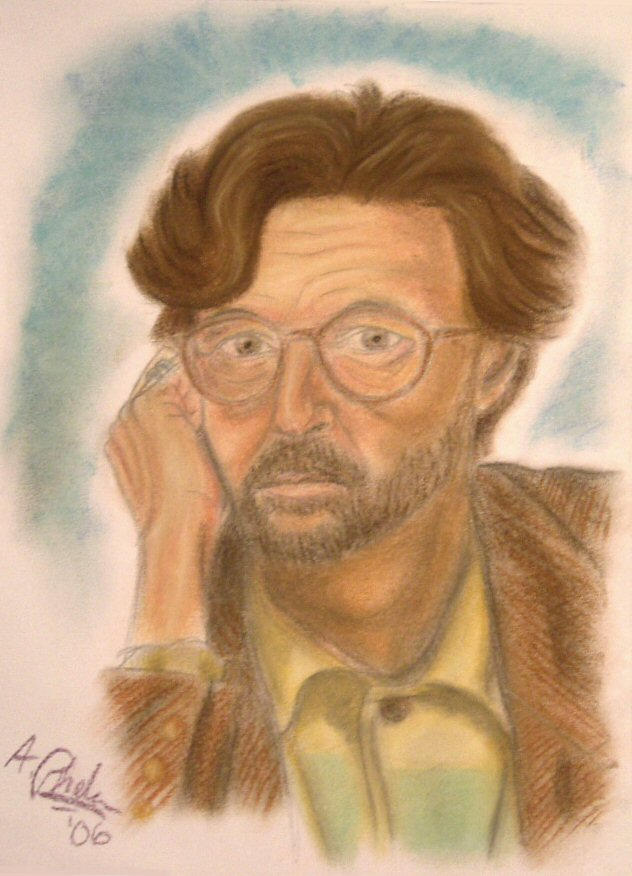 eric clapton wallpaper. Eric Clapton :: Pastel by