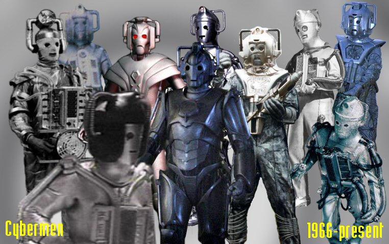 Evolution Of The Cybermen The Cybermen by IronOu...