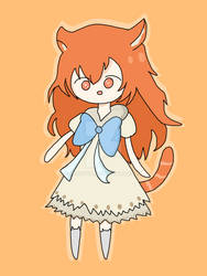 Fantasy fox girl [Contest entry] by RuddyDA