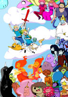 ADVENTURE TIME!!! by RanchingGal
